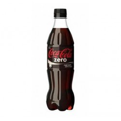COCA COLA ZERO PET 50CL