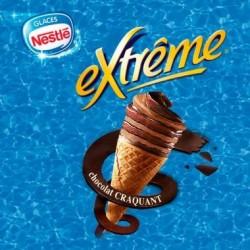 EXTREME® Chocolat craquant double chocolat